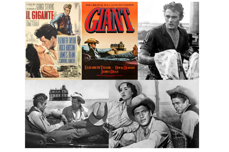 Il gigante (1956) – con James Dean, Liz Taylor, Rock Hudson