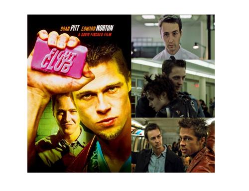 Fight Club (1999) – con Brad Pitt ed Edward Norton